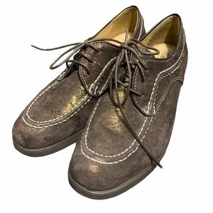Hush Puppies oxford style leather shoes